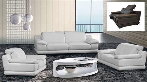 canapé cuir home salon salons cuir mobilier cuir