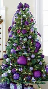 Purple Christmas Tree on Pinterest