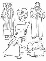 Shepherd Coloring Lds Sheep Jesus Lost Bible Pentru Cel Flannel Sunday Pastorul Bun Board Stories Parable Shepard Hartie Crafts Copii sketch template