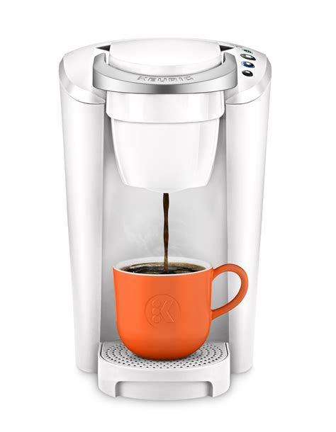 Asian folks make great coffee. Keurig K-Compact Single-Serve K-Cup Pod Coffee Maker, White - VIP Outlet