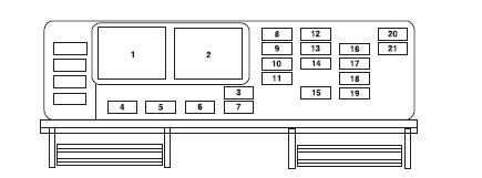 fuse box diagram    mustang  cover