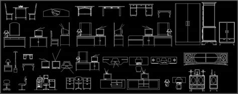 Cabinet Autocad Blocks various cabinets autocad block autocad dwg plan n design