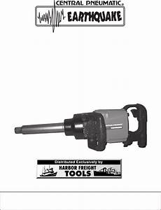 Harbor Freight Tools Impact Driver 92421 User Guide