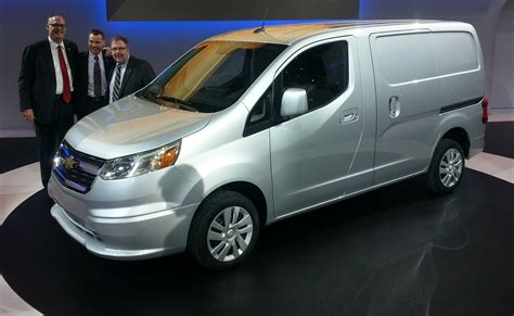 Chevy City Express Vs Nissan Nv200 by 2015 Chevrolet City Express Gm Taps Nissan For A Small