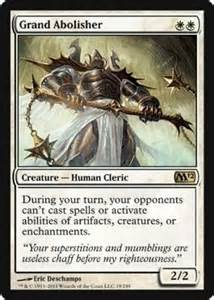 magic the gathering creature human cleric grand