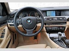 Foto BMW 5er, Modell F10, ab 2010, Innenraum vorne