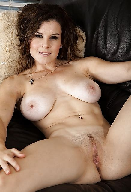 MILF Housewife Gets Naked On Couch Jerk Off For Her