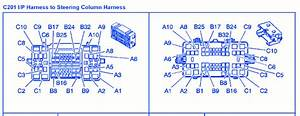 Chevrolet Suburban  5 3l 4wd 2003 Steering Column Electrical Circuit Wiring Diagram  U00bb Carfusebox