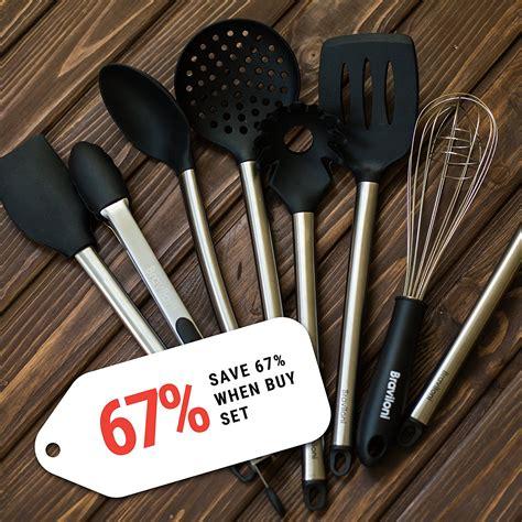 kitchen utensils  piece cooking utensils nonstick