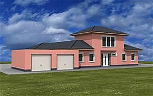 Bungalow Mit Atrium : atrium 208 20 43 winkelbungalow mit turm und garage einfamilienhaus neubau massivbau stein auf stein ~ Indierocktalk.com Haus und Dekorationen