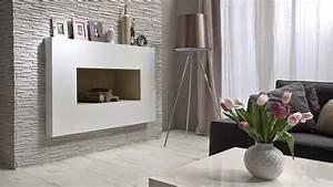 Obklady stěn v obýváku