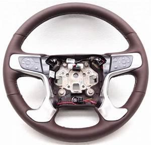 Oem Gmc Sierra 2500 3500 Denali Steering Wheel Leather