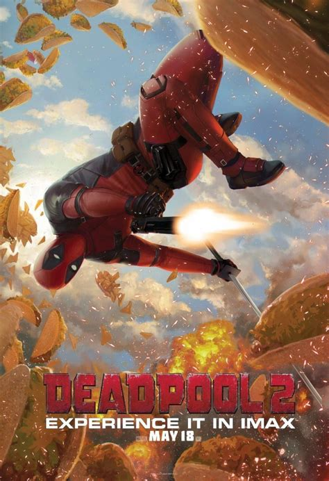 'deadpool 2' Uses Deviantartists For Imax Poster