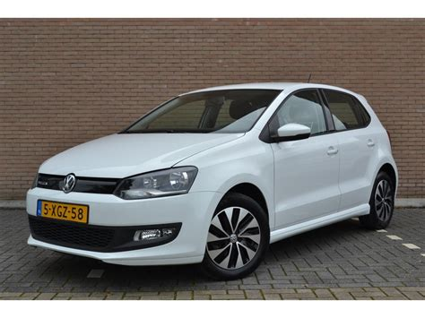 Volkswagen Polo 1.4 TDI Bluemotion Wit/5-deurs/46.000km ...