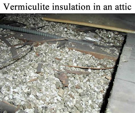 vermiculite insulation   attic