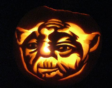 yoda pumkin halloween2008 contest pumpkin carving yoda picture ebaum s world