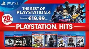 Dcouvrez La Gamme PlayStation Hits Des Hits PS4