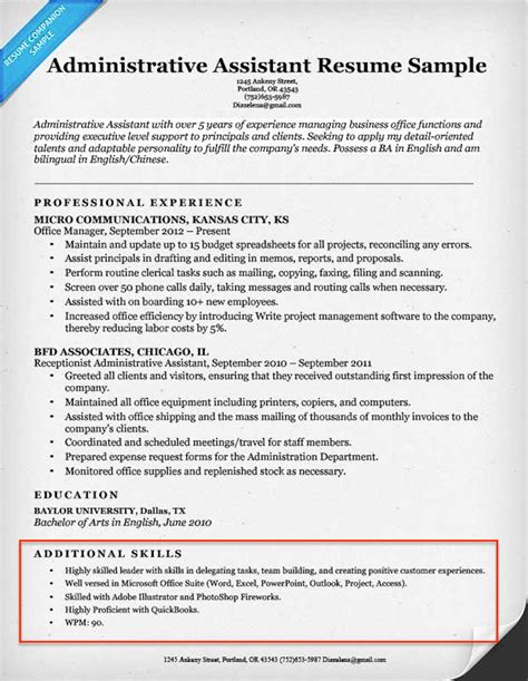 What Is Skills On A Resume by 20 Skills For Resumes Exles Included Resume Companion
