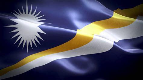 Marshall Islands anthem & flag FullHD / Маршалловы Острова ...
