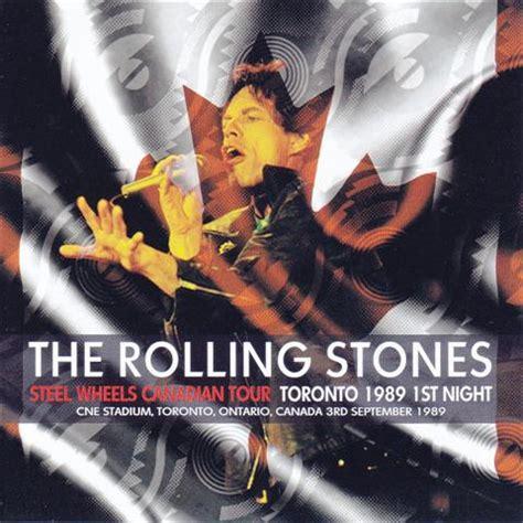 Stones Toronto by Rolling Stones Toronto 1989 1st Steel Wheels