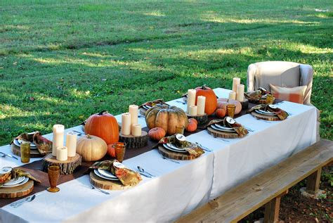 thanksgiving outdoor table decorations grateful harvest thewhitebuffalostylingco com