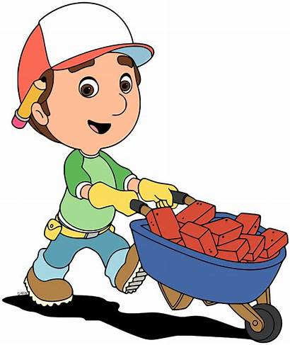 Manny Handy Clip Bricks Disney Wheelbarrow Images6