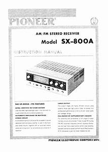 Pioneer Sx-800a