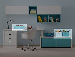 Rangement Pour Chambre : meuble de rangement pour chambre de fille idee rangement ~ Premium-room.com Idées de Décoration