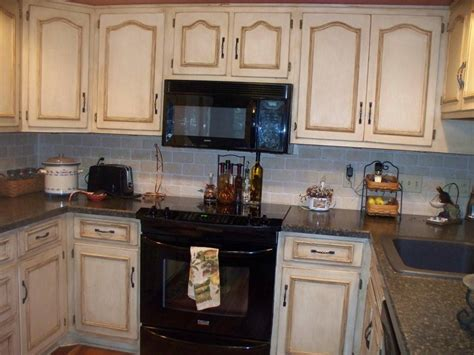 Refinishing Glazed Kitchen Cabinets  Theydesignnet