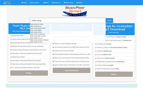 latest english songs mp3 download musicpleer