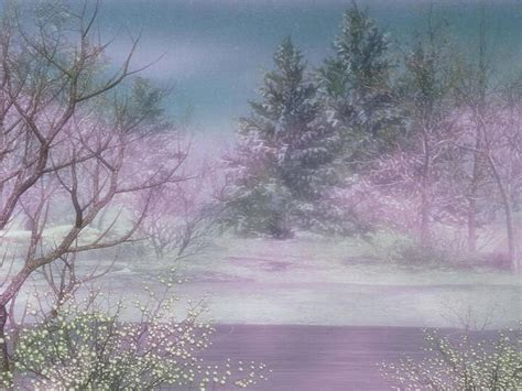 fantasy winter background