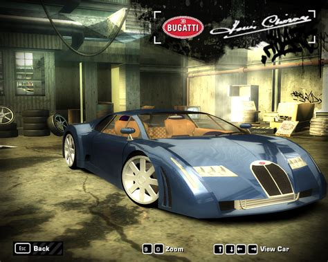 Need For Speed Most Wanted Bugatti 18/3 Chiron