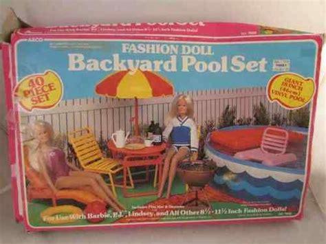 barbee pool deck vintage 1980s arco backyard 40 pool set