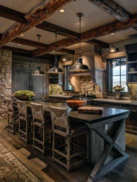 top   rustic kitchen ideas vintage inspired