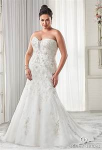 bonny bridal wedding dresses unforgettable styles for With plus size drop waist wedding dress