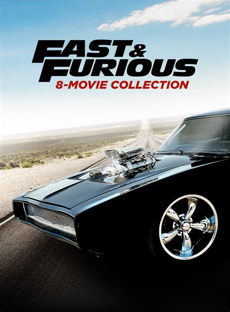 Fast And Furious Complete Paul Walker Movies 1 2 3 4 5 6