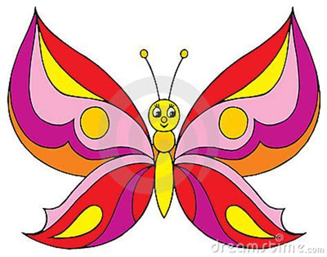 Butterfly (vector Clip art) Stock Photography   Image: 3279722