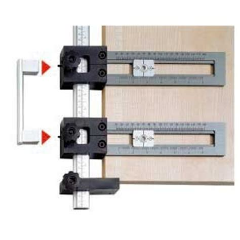 drilling jig for cabinet and drawer handles better pull knob drilling jig woodweb 39 s cabinet and