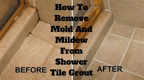 Bathroom Shower Grout Cleaner by How To Remove Mold And Mildew From Shower Tile Grout