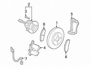 Chevrolet Cobalt Disc Brake Pad Set  Front