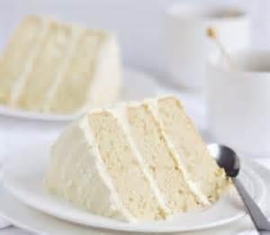 French Vanilla Layer Cake Recipe