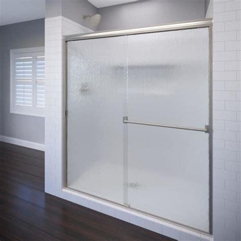 basco shower door shop basco classic 44 in to 47 in frameless shower door at