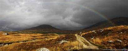 Dual Rainbow Monitor 2560 Scotland Wallpapers 1024