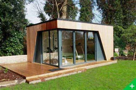 bureau de jardin design bureau de jardin abris agrandissement bois maison cube