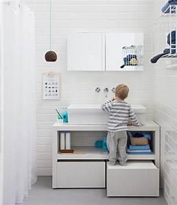 Möbel Für Kleines Bad : bequeme l sung f r kleine kinder im bad bathroom pinterest badezimmer waschbecken und bad ~ Frokenaadalensverden.com Haus und Dekorationen