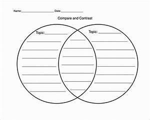 Venn Diagram Printable In 2020