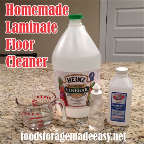 vinegar laminate floor cleaner recipe homemade household cleaning supplies