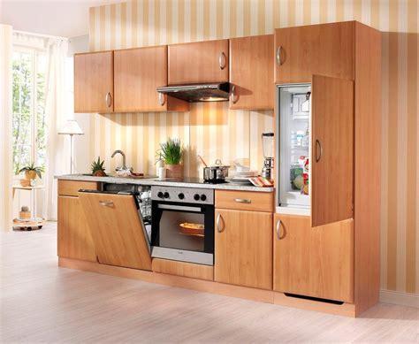Küchenzeile Mit E-geräten »prag«, Breite 280 Cm