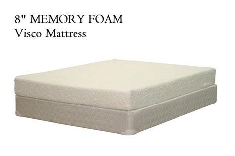8 inch memory foam mattress memory foam mattresses beds to go