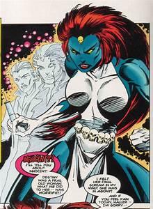 Mystique Comics | Mystique in original costume ...